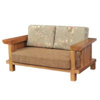SY2678SJ双人沙发(不含沙发垫)(榆木)