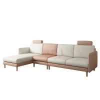 F18801FA(反向转角+1R无扶手)沙发[SM130233-9布]