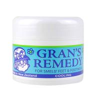 老奶奶Grans remedy臭脚粉薄荷50g(可贴标签)