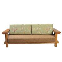 SY2678SJ三人沙发(不含沙发垫)(榆木)
