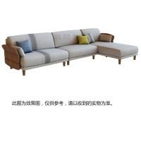 H1901T-1(转角+2R/无扶手/含抱枕)安徒生沙发[G137-32布]