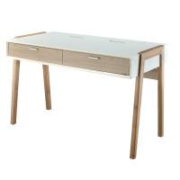 F15801BA(带收线盒)书桌