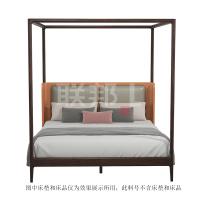 YS2066YA(1.8M)架子床[ZS1905半皮]